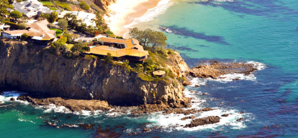 Aerial Photography: Abalone Point, Laguna Beach
